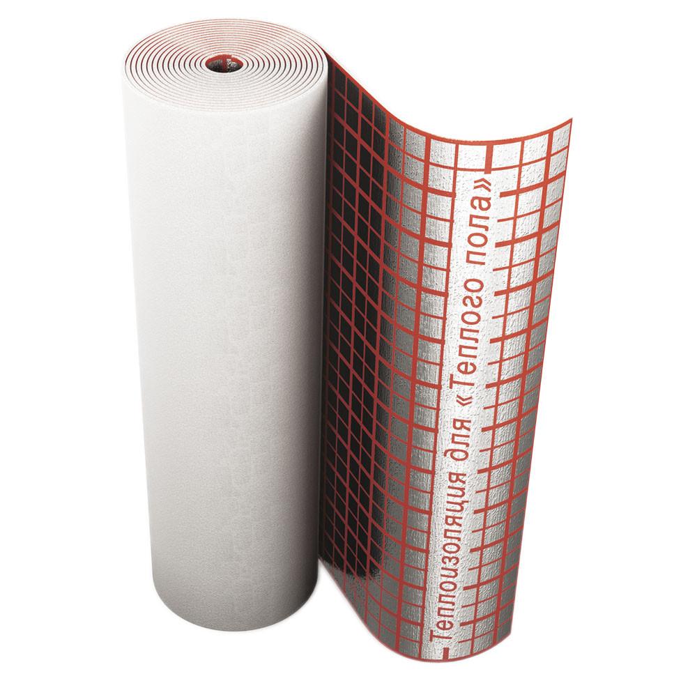 Теплоизоляционная подложка (пенофол)