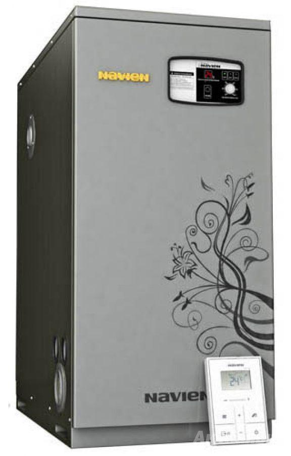 Напольный газовый котел Navien GST-40 KN (отопление+ГВС)