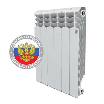 Секционный алюминиевый радиатор Royal Thermo Revolution 500 - 4 секции
