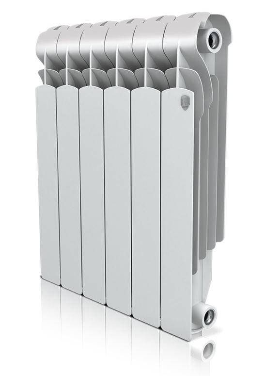 Секционный алюминиевый радиатор Royal Thermo Indigo 500 - 6 секций